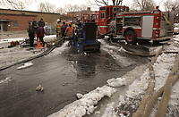 File Photo of Montreal Firemen at Work. Copyright : Images Distribution