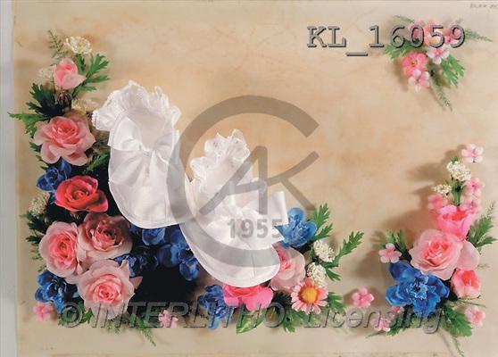 Interlitho, Helga, BABIES, photos, baby-shoes, flowers(KL16059,#B#) bébé