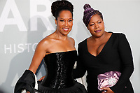 CAP D'ANTIBES, FRANCE - JULY 16:  Regina King and Reina King at the amfAR Cannes Gala 2021 during the 74th Annual Cannes Film Festival at Villa Eilenroc on July 16, 2021 in Cap d'Antibes, France. <br /> CAP/GOL<br /> ©GOL/Capital Pictures