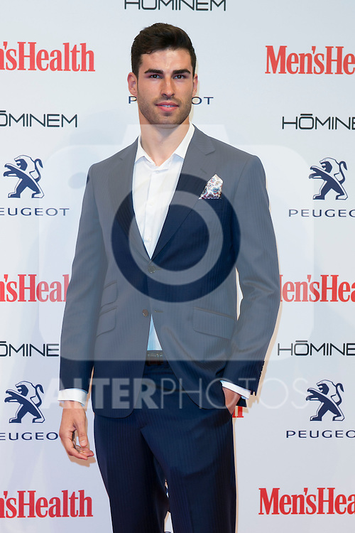 Ruben Lopez attend the MENS HEALTH AWARDS at Goya Theatre in Madrid, Spain. October 28, 2014. (ALTERPHOTOS/Carlos Dafonte)