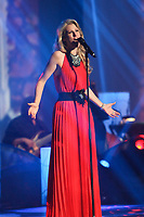 Brigitte M. performs during the Telethon Enfant Soleil in Quebec City Sunday June 3, 2012.
