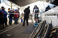 Zdenek Stybar (CZE) warming up<br /> <br /> 2014 UCI cyclo-cross World Championships, Elite Men