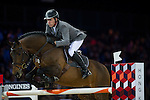 Ludger Beerbaum on Chaman competes during the Airbus  Trophy at the Longines Masters of Hong Kong on 20 February 2016 at the Asia World Expo in Hong Kong, China. Photo by Juan Manuel Serrano / Power Sport Images
