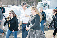 Beto O'Rourke - Tuckerman Brewing - Conway, NH - 20 March 2019