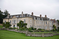 BNPS.co.uk (01202) 558833<br /> Pic: ZacharyCulpin/BNPS<br /> <br /> Pictured: The exhibition will be held at Firle Place in East Sussex<br /> <br /> A textile artist has unveiled a collection of remarkable Regency outfits she has painstakingly made out of paper.<br /> <br /> Stephanie Smart has produced 11 life-sized outfits including a red frockcoat modelled on the style of Napoleon.<br /> <br /> Others depict walking dresses, naval uniforms and spencer jackets from the Regency era. (1795-1837)<br /> <br /> Her creations are on display as part of an exhibition titled The Regency Wardrobe at Firlie Place in East Sussex.