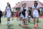 Stephen Jenness and Blair Tarrant. Men's North v South hockey match, St Pauls Collegiate, Hamilton, New Zealand. Saturday 17 April 2021 Photo: Simon Watts/www.bwmedia.co.nz