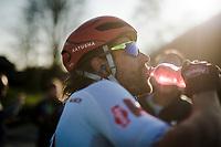 post race liquids for Marco Haller (AUT/Katusha-Alpecin)<br /> <br /> 62nd E3 BinckBank Classic (Harelbeke) 2019 <br /> One day race (1.UWT) from Harelbeke to Harelbeke (204km)<br /> <br /> ©kramon