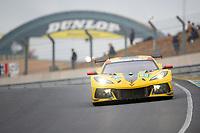 #63 Corvette Racing Chevrolet Corvette C8.R LMGTE Pro, Antonio Garcia, Jordan Taylor, Nicky Catsburg, 24 Hours of Le Mans , Race, Circuit des 24 Heures, Le Mans, Pays da Loire, France