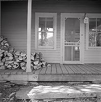 Front porch of a farmhouse<br />