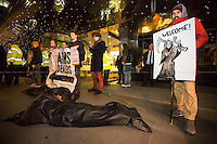"""02.02.2016 - """"Stop Arming Saudi: Protest At The Arms Dealers' Dinner"""""""