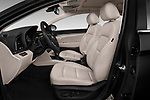 Front seat view of a 2018 Hyundai Elantra Limited 4 Door Sedan front seat car photos