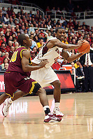 STANFORD, CA - JANUARY 2:  Stanford Cardinal Anthony Goods during Stanford's 90-60 loss to the Arizona State Sun Devils on January 2, 2009 at Maples Pavilion in Stanford, California.