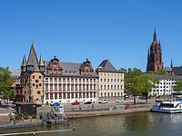 Historisches Museum, Dom, Frankfurt, Hessen, Deutschland, Europa<br /> historical museum, Dome, Frankfurt, Hesse, Germany, Europe