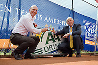 14-7-08, Amersfoort, Tennis, Dutch Open, Nieuw contract AA Drink
