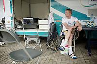 Bart Wellens (BEL/Telenet-Fidea) pré-race<br /> <br /> Heistse Pijl 2014