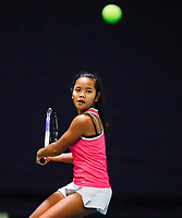 Hilversum, Netherlands, December 3, 2017, Winter Youth Circuit Masters, 12,14,and 16 years, Chayenne Kasan (NED)<br /> Photo: Tennisimages/Henk Koster