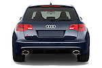 Straight rear view of a 2008 - 2013 Audi RS6 5 Door Wagon 4WD.