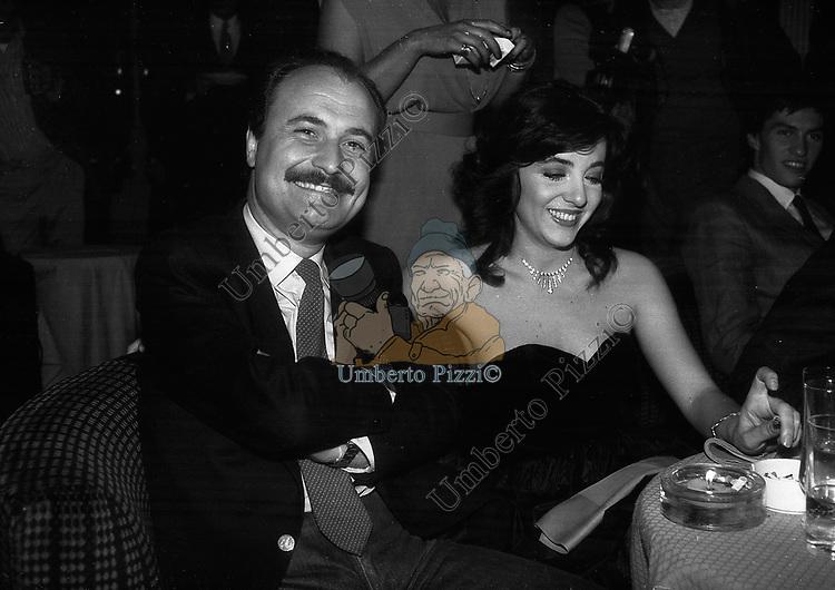 GIANNI MERCATALI<br /> FESTA PER I 10 ANNI DI PLAYBOY<br /> PIPER CLUB ROMA 1980