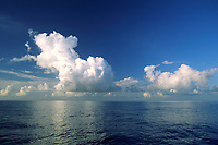 cummulus clouds, Cocos Islands, Costa Rica, Pacific Ocean