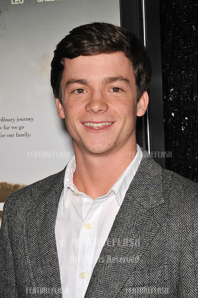 """Conor Donovan at the premiere of his new movie """"Conviction"""" at the Academy of Motion Picture Arts & Sciences in Beverly Hills..October 5, 2010  Los Angeles, CA.Picture: Paul Smith / Featureflash"""