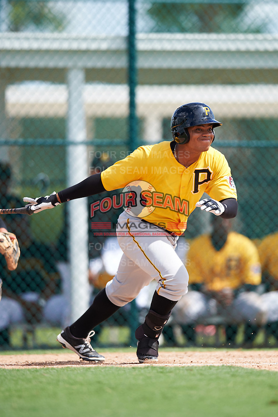 Pittsburgh Pirates Jhoan Herrera (35) during an Instructional League Intrasquad Black & Gold game on September 28, 2016 at Pirate City in Bradenton, Florida.  (Mike Janes/Four Seam Images)