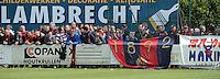 Izegem - FC Luik :....Luikse supporters..foto VDB / BART VANDENBROUCKE