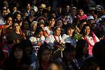 Indigenous Governing Council spokewoman Marichuy Patricio Martinez in the UNAM