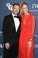 Ronana and Storm Keating<br /> arriving for the 2018 IWC Schaffhausen Gala Dinner in Honour of the BFI at the Electric Light Station, London<br /> <br /> ©Ash Knotek  D3437  09/10/2018