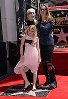 Barbara Bain + daughter Susan + grand daughter Aria @ Walk of Fame ceremony held @ 6767 Hollywood blvd.<br /> April 28, 2016