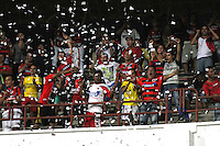 CUCUTA -COLOMBIA- 11-12--2013. Hinchas del Cucuta Deportivo antes de que su equipo se fuera a la segunda  division Accion de juego  del  partido de vuelta entre los equipos Cucuta Deportivo y Fortaleza FC encuentro  correspondiente  a la promocion del futbol profesional colombiano ,  estadio General Santander  / Cucuta Deportivo fans before his team left for the second division of Action leg game between teams and Fortaleza FC Deportivo Cucuta meeting relevant to the promotion of the Colombian professional football, General Santander stadium.Photo: VizzorImage / Manuel Hernandez  / Stringer