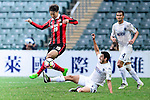 Auckland City Forward Emiliano Tade (r) trips up with Hwang Kiwook of FC Seoul (l) during the 2017 Lunar New Year Cup match between Auckland City FC (NZL) vs FC Seoul (KOR) on January 28, 2017 in Hong Kong, Hong Kong. Photo by Marcio Rodrigo Machado/Power Sport Images