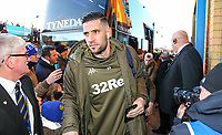 Leeds United's Kiko Casilla arrives at Elland Road<br /> <br /> Photographer Alex Dodd/CameraSport<br /> <br /> The EFL Sky Bet Championship - Leeds United v Norwich City - Saturday 2nd February 2019 - Elland Road - Leeds<br /> <br /> World Copyright © 2019 CameraSport. All rights reserved. 43 Linden Ave. Countesthorpe. Leicester. England. LE8 5PG - Tel: +44 (0) 116 277 4147 - admin@camerasport.com - www.camerasport.com