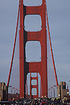 EVENING TRAFFIC ON GOLDEN GATE BRIDGE (7)