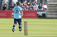 Tom Westley of Essex leaves the field having been dismissed for 71 during Gloucestershire vs Essex Eagles, Royal London One-Day Cup Cricket at the Bristol County Ground on 3rd August 2021