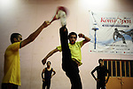 Baghdad, Iraq  : Wed 20th Oct 2010 :..A Taekwondo class in Sadr City. ...Ayman Oghanna for The New York Times