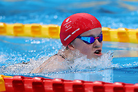 28th August 2021; Tokyo, Japan; Maisie Summers-Newton (GBR),<br />  Swimming : Women's 100m Breaststroke SB6 Final during the Tokyo 2020 Paralympic Games at the Tokyo Aquatics Centre in Tokyo, Japan.