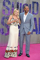 """Margot Robbie and Will Smith<br /> arrives for the """"Suicide Squad"""" premiere at the Odeon Leicester Square, London.<br /> <br /> <br /> ©Ash Knotek  D3142  03/08/2016"""