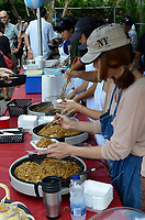 August 11 2012 - Montreal (Qc) Canada - Matsuri Japon Festival 11th edition.<br /> <br /> Matsuri Japon is a free event promoting Japanese culture to the general public. IN PHOTO : stir fried noodles