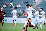 Auckland City Defender Darren White (c) heads the ball during the 2017 Lunar New Year Cup match between Auckland City FC (NZL) and FC Seoul ((KOR) on January 28, 2017 in Hong Kong, Hong Kong. Photo by Marcio Rodrigo Machado/Power Sport Images