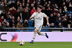 Real Madrid's Alvaro Odriozola during Copa del Rey match between Real Madrid and Girona FC at Santiago Bernabeu Stadium in Madrid, Spain. January 24, 2019. (ALTERPHOTOS/A. Perez Meca)