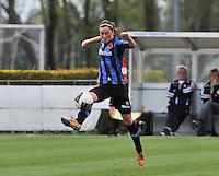 Club Brugge Dames - STVV Sint Truidense VV : Charlotte Laridon.foto DAVID CATRY / Nikonpro.be