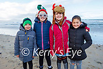 Lexi and Izzi Royale and Charlotte and Noah McMahon from Kilmoyley in Banna beach on Sunday.