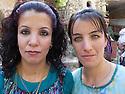 Iraq 2011 <br /> Young yezidi  women in Lalesh  <br /> Irak 2011 <br /> Jeunes femmes yezidis au sanctuaire de Lalesh