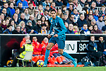 Raphael Varane of Real Madrid in action during the La Liga 2017-18 match between Valencia CF and Real Madrid at Estadio de Mestalla  on 27 January 2018 in Valencia, Spain. Photo by Maria Jose Segovia Carmona / Power Sport Images