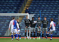 26th December 2020; Ewood Park, Blackburn, Lancashire, England; English Football League Championship Football, Blackburn Rovers versus Sheffield Wednesday; a free kick from Lewis Holtby of Blackburn Rovers strikes the defensive wall