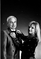 Dominique Michel,<br /> Yvon Deschamps <br /> , qui ont co-animes les galas Juste Pour Rire dans les années 90.<br /> date inconnue