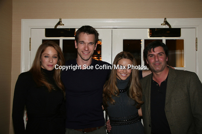 Jamie Luner, Adam Mayfield, Chrishell Stause, Vincent Irizarry at a benefit for American Lung Association on December 6, 2009 at Mezza on the Green at the Lawrence Country Club. (Photos by Sue Coflin/Max Photos)