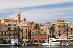 Calvi, Coastal towns in Corsica, Haute Corse, Corsica, France, Mediterranean Coast,