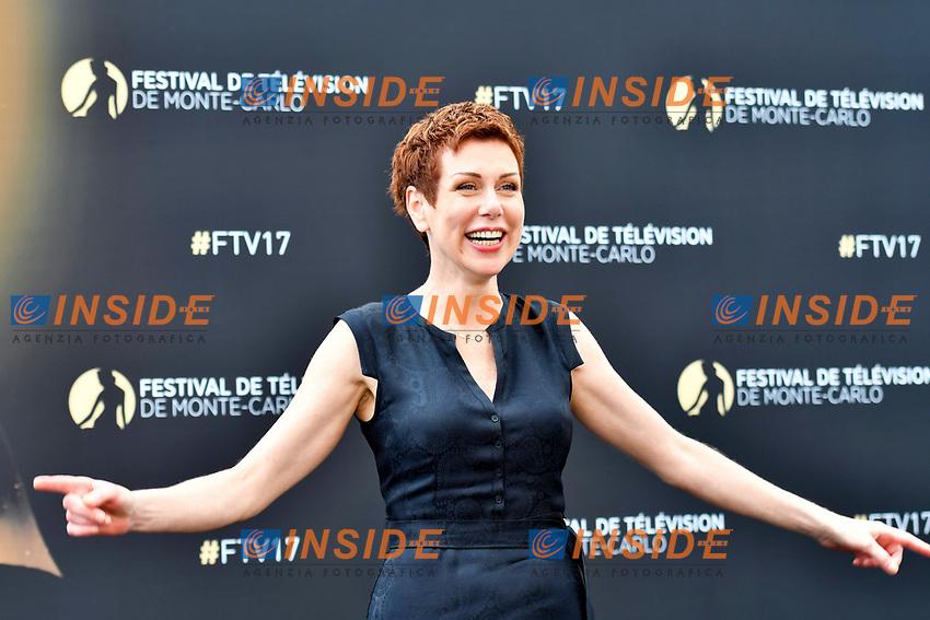 Marie Reache (Plus belle la vie)<br /> Monaco - 20/06/2017<br /> 57 festival TV Monte Carlo <br /> Foto Norbert Scanella / Panoramic / Insidefoto