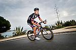 Tom Veelers Team Giant-Alpecin training camp held around Cambrils, Spain. 26 Janiuary 2015<br /> Photo: Team Giant-Alpecin/www.newsfile.ie